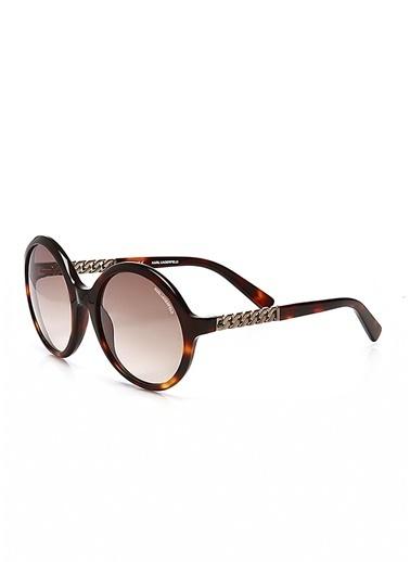 Karl Lagerfeld Güneş Gözlüğü Kahve